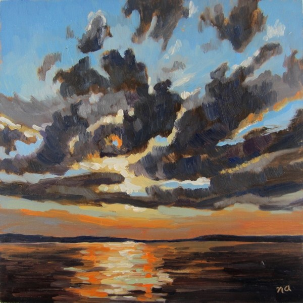 """Overhead Inspiration"" original fine art by Nicki Ault"