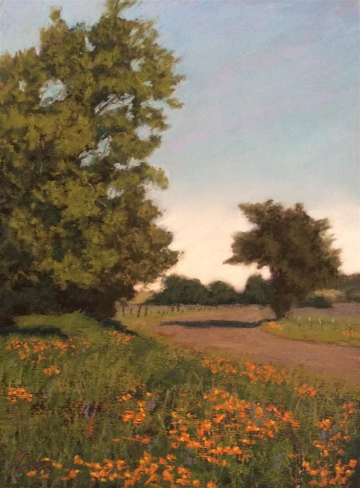 """""""SPRINGTIME IN WINTERS"""" original fine art by Marti Walker"""