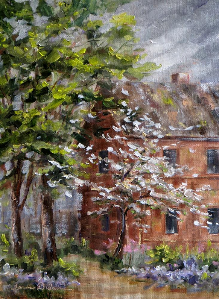 """Historic Bentel House"" original fine art by Tammie Dickerson"