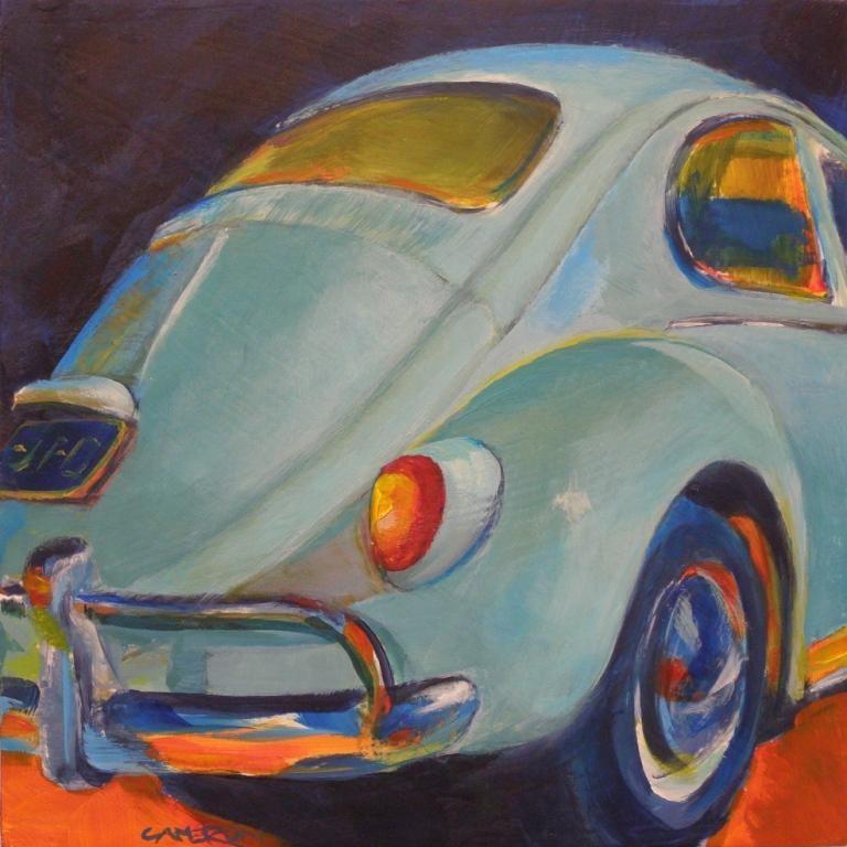 """NIGHT BEETLE"" original fine art by Brian Cameron"
