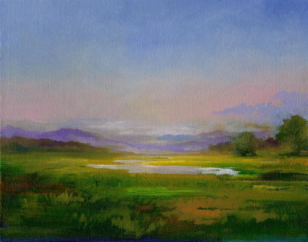 """after rain"" original fine art by Mark DeBak"