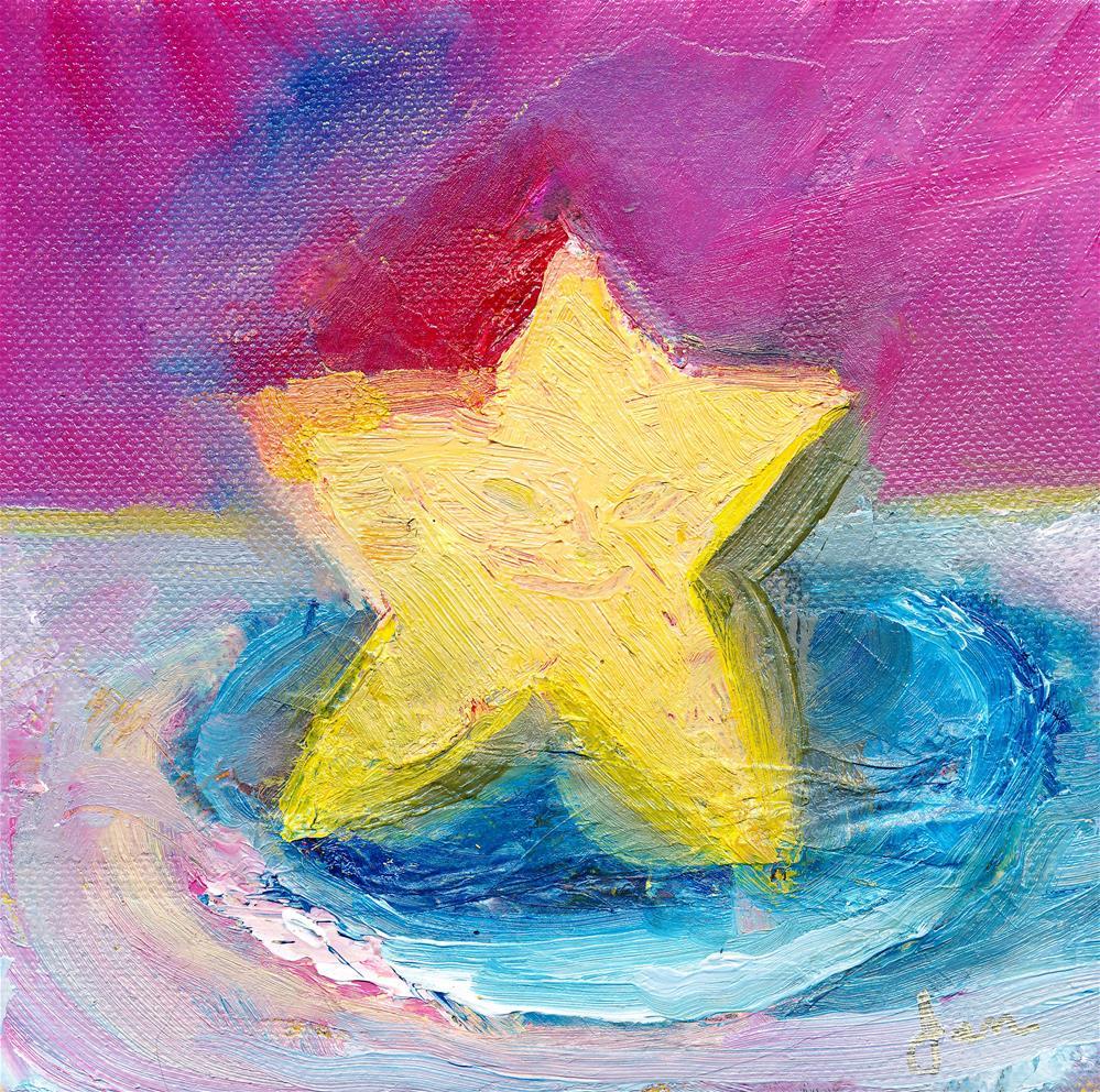 """Ms. Star"" original fine art by Janet Gunderson"