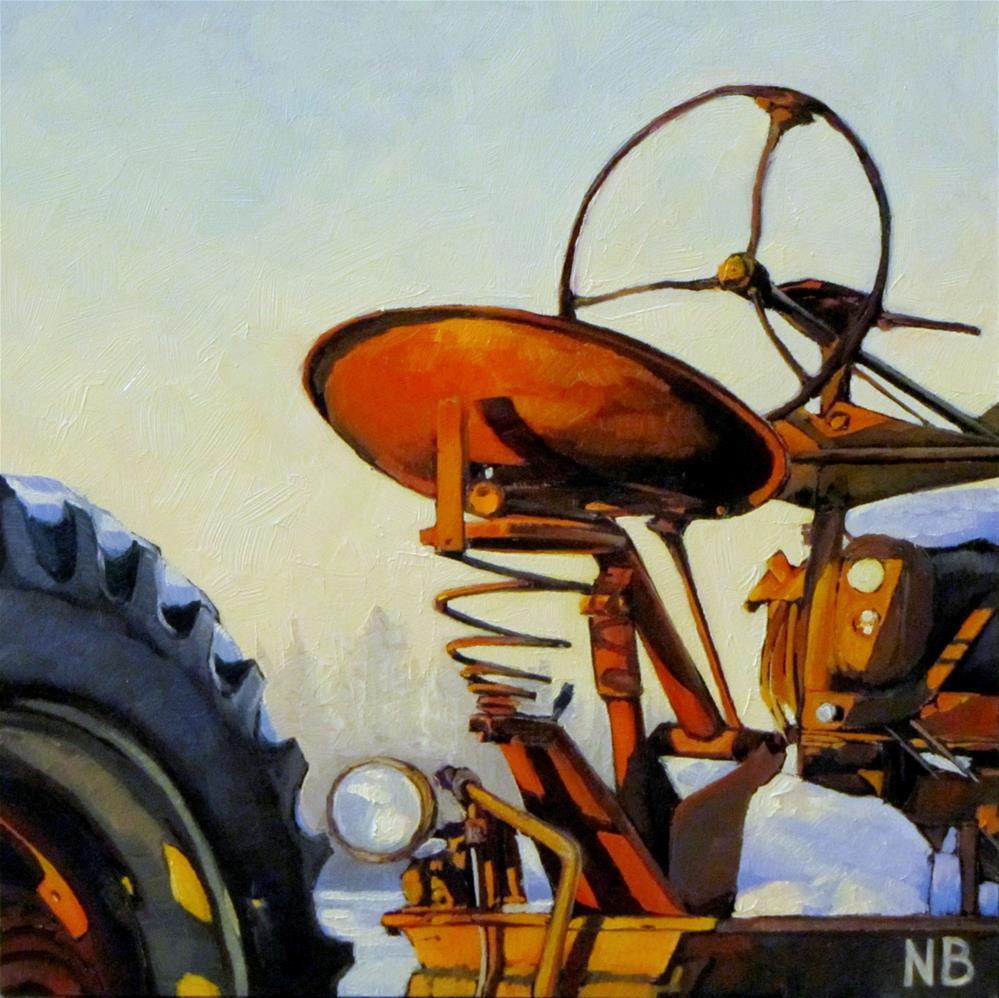 """Retired"" original fine art by Nora Bergman"