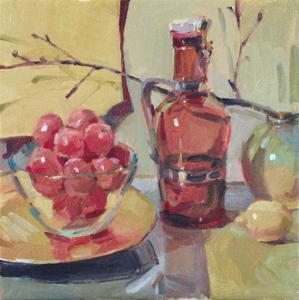 """""""Pale Citrus"""" original fine art by Sarah Sedwick"""
