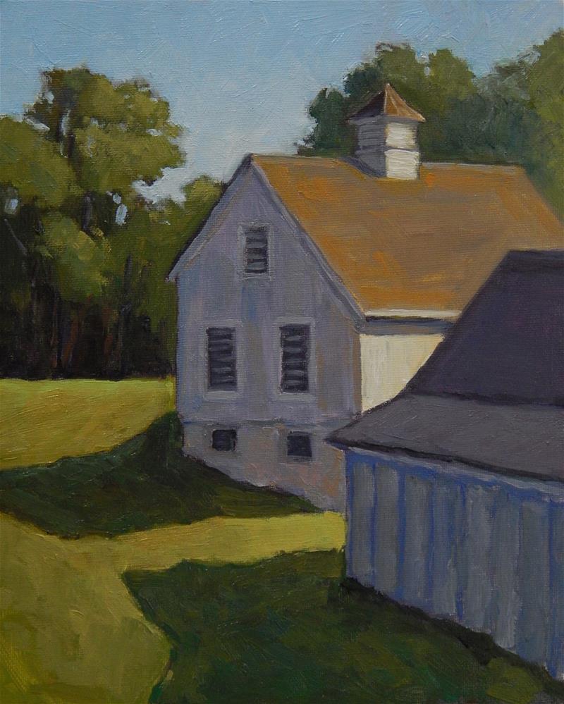 """Morning at the Apple Farm"" original fine art by Lisa Kyle"