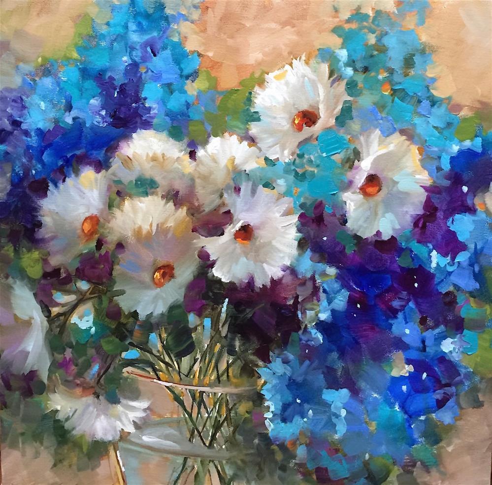"""Memories Alight ~ Saying Goodbye to My Childhood Home"" original fine art by Nancy Medina"