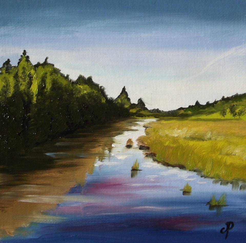 """Virtual Paintout #1"" original fine art by Jane Palmer"