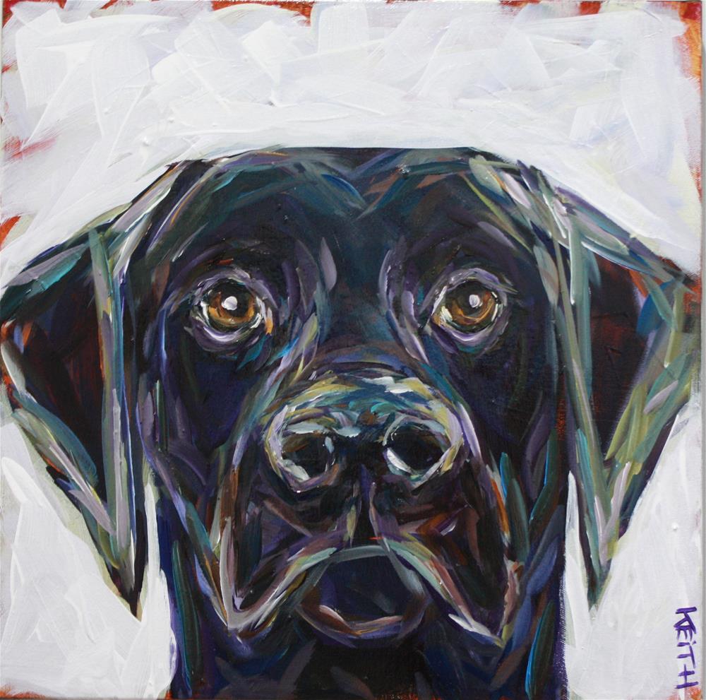 """Fetch"" original fine art by Kandice Keith"