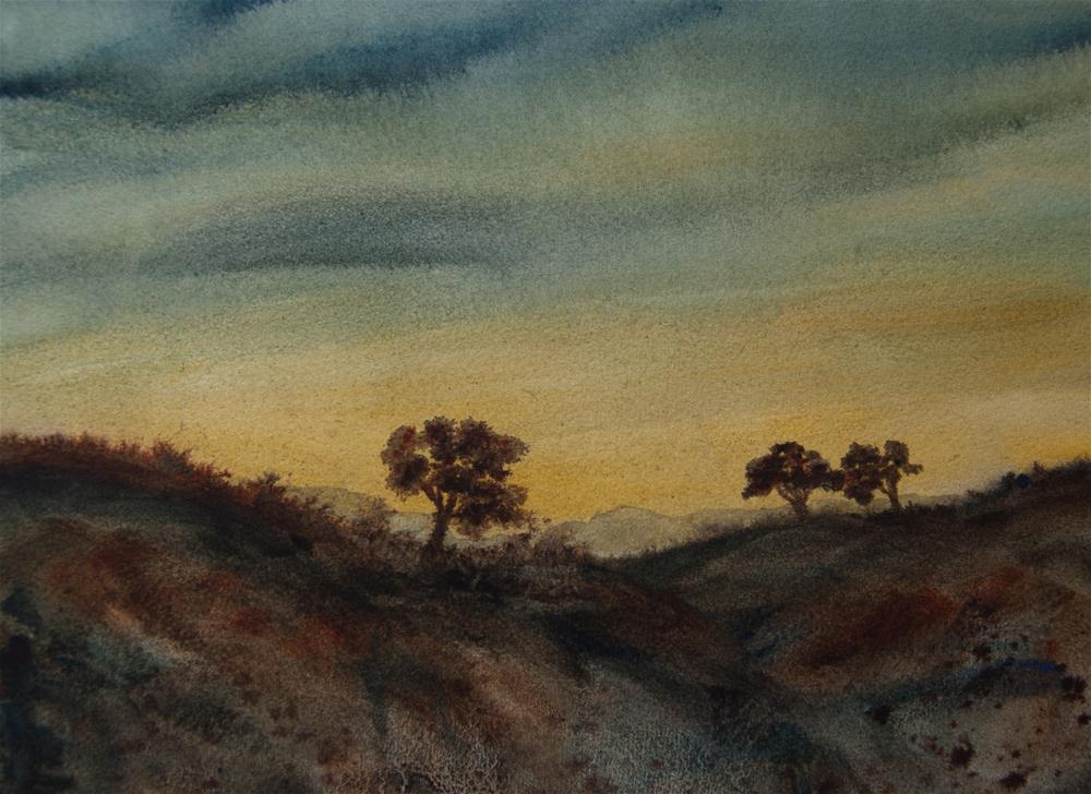 """Dawn"" original fine art by Jean Lurssen"