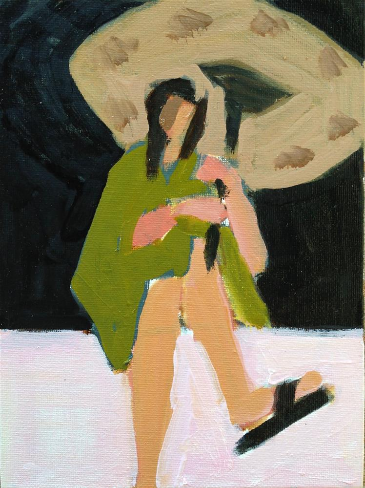 """Hey Milton Avery And Ezra Jack Keats"" original fine art by Pamela Hoffmeister"