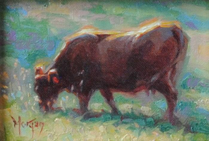 """Summer Bounty"" original fine art by Cecile W. Morgan"