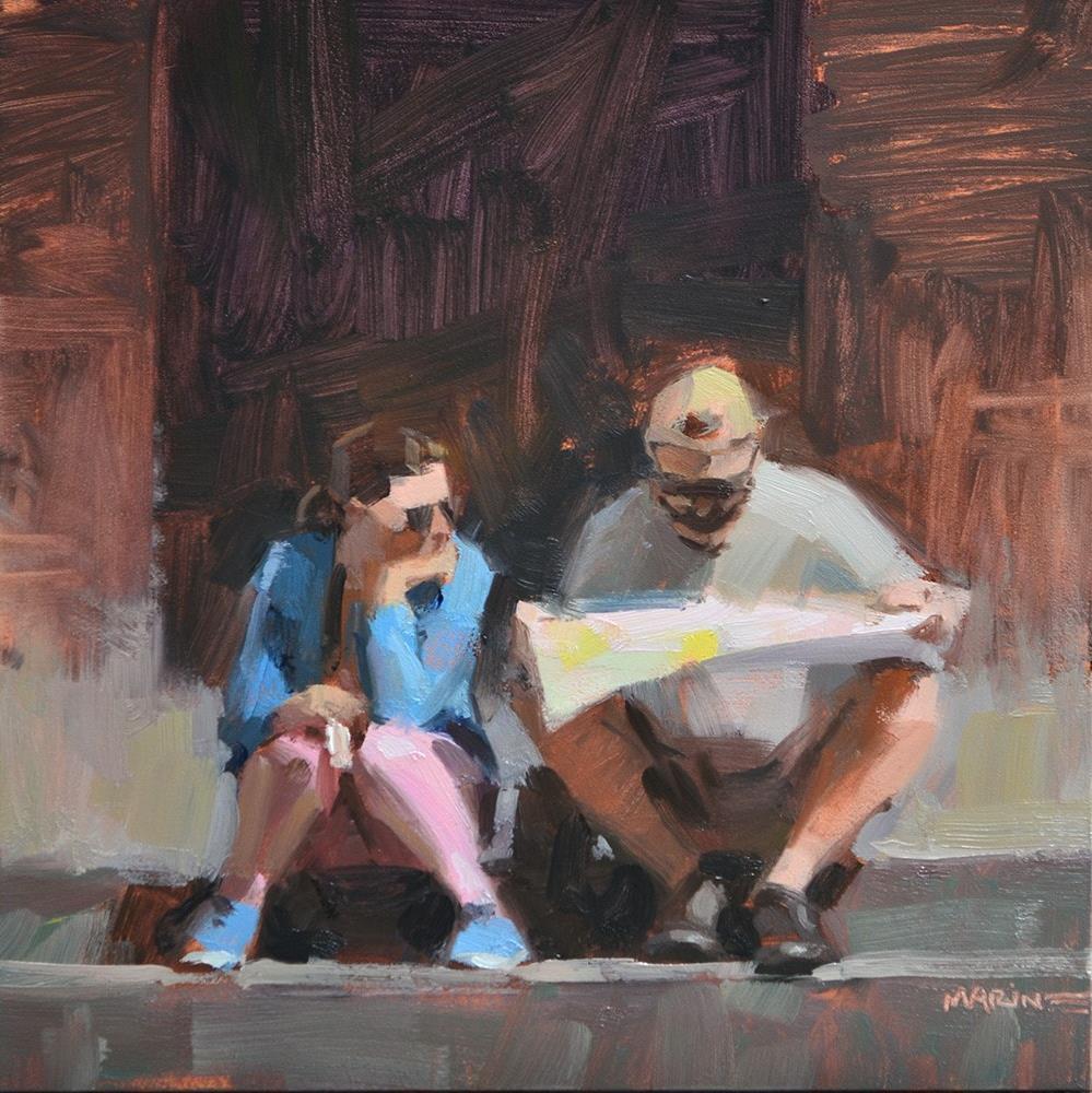 """Honeymoon Phase"" original fine art by Carol Marine"