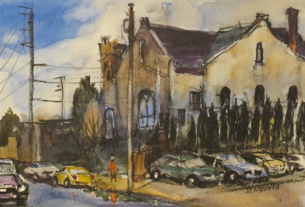 """Well Church Portland OR"" original fine art by Dann Morris"