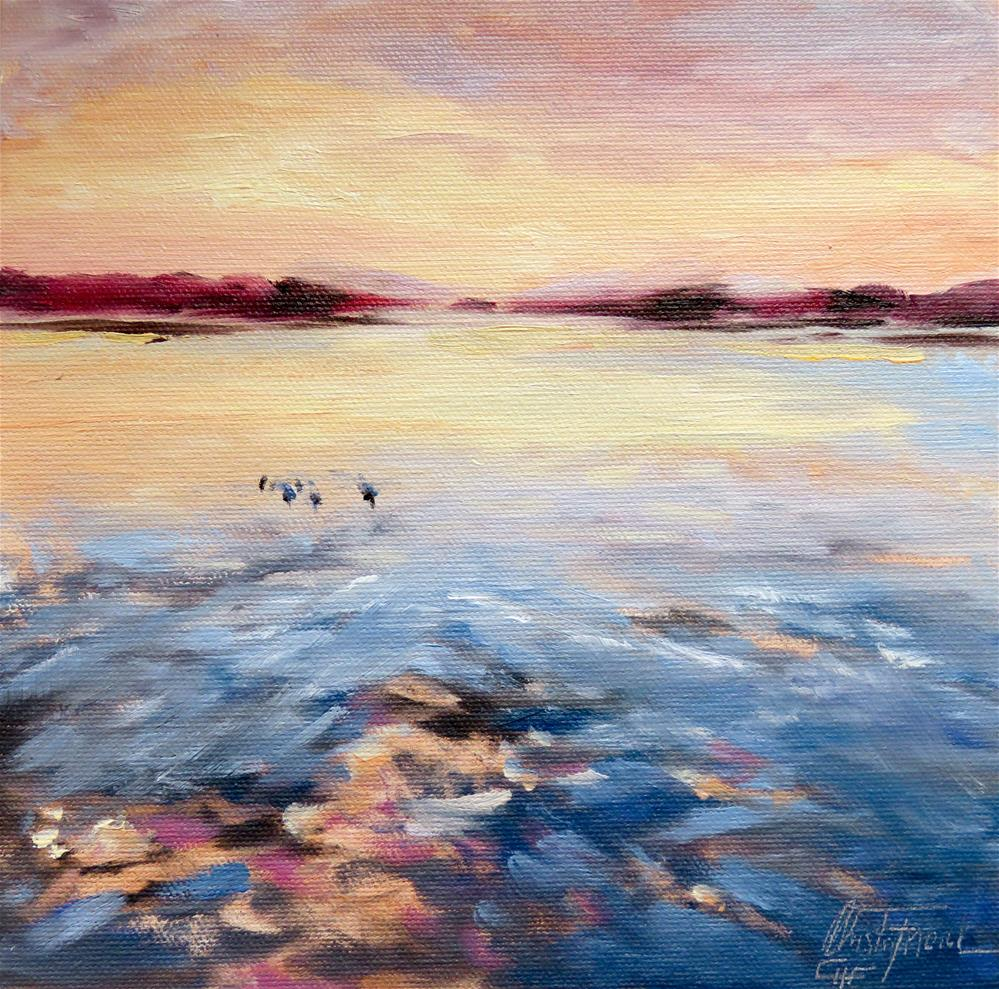 """Early Morning"" original fine art by Christa Friedl"