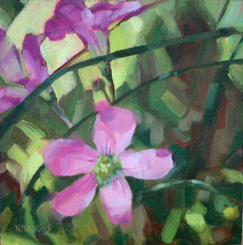 """Relentless Desire"" original fine art by Nancy Parsons"