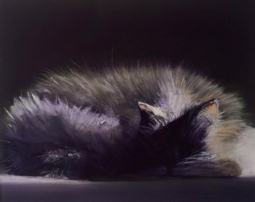 """Another Nap"" original fine art by Cristine Kossow"