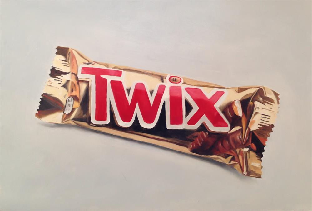 """Twix"" original fine art by James Coates"