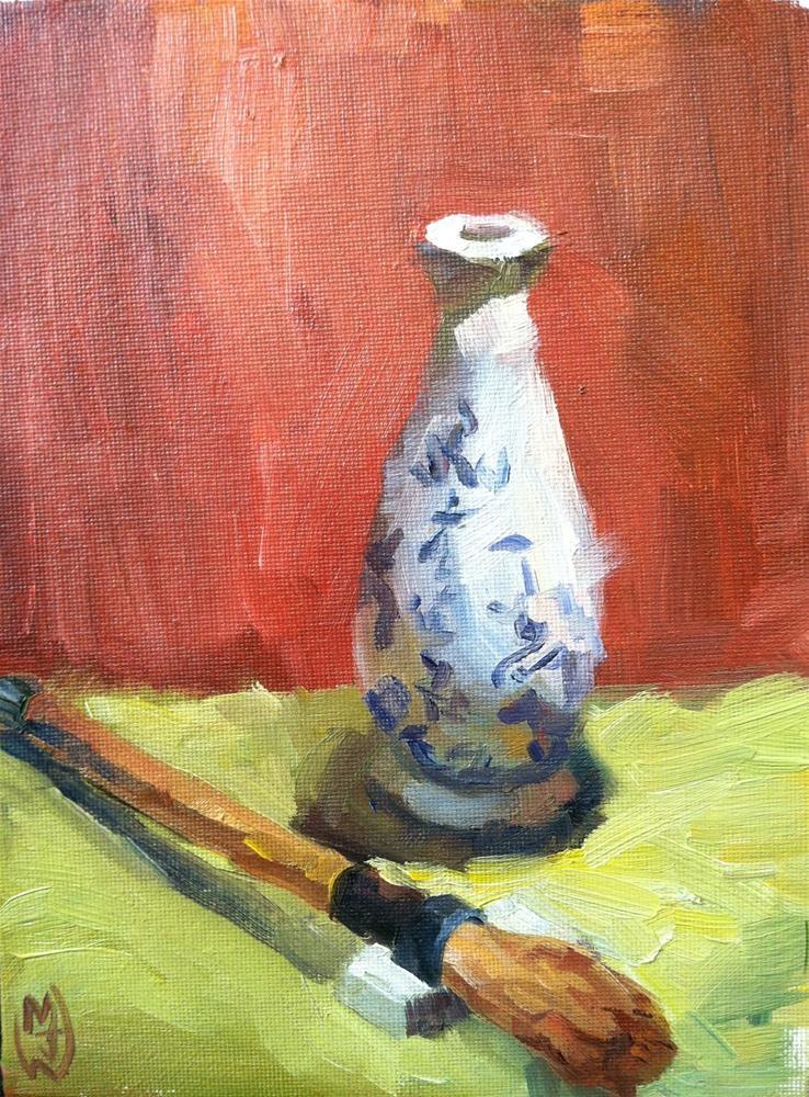 """Sumi Ink and Brush"" original fine art by Michael Williamson"