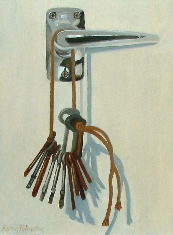 """""""Has Beens"""" original fine art by Karen Johnston"""