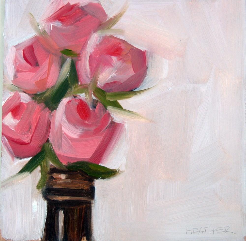 """Buds"" original fine art by Heather Bennett"