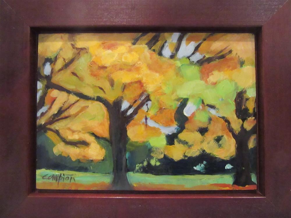 """517 Shapely 2"" original fine art by Diane Campion"