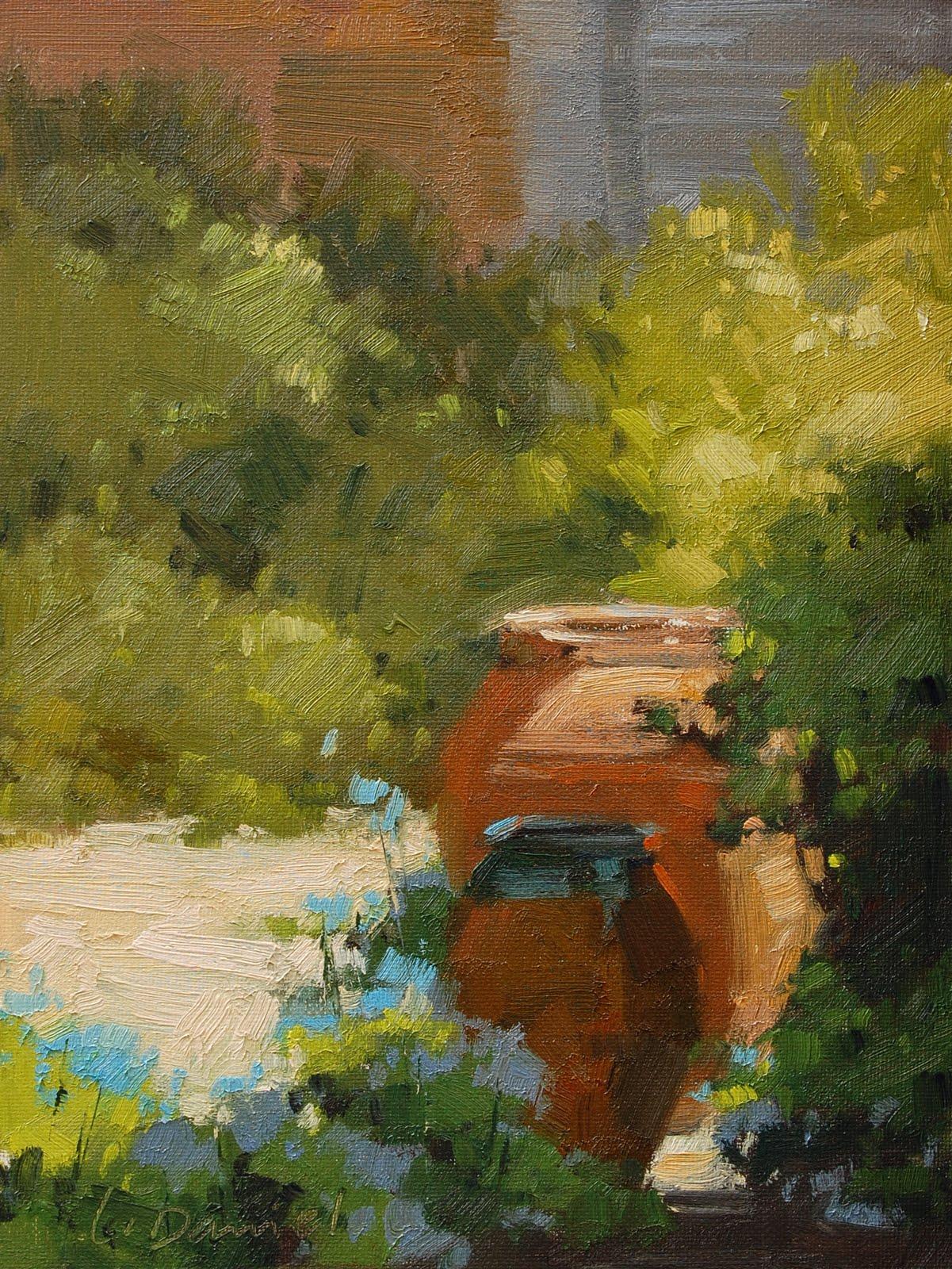 """""""Earthen Vessels"""" original fine art by Laurel Daniel"""