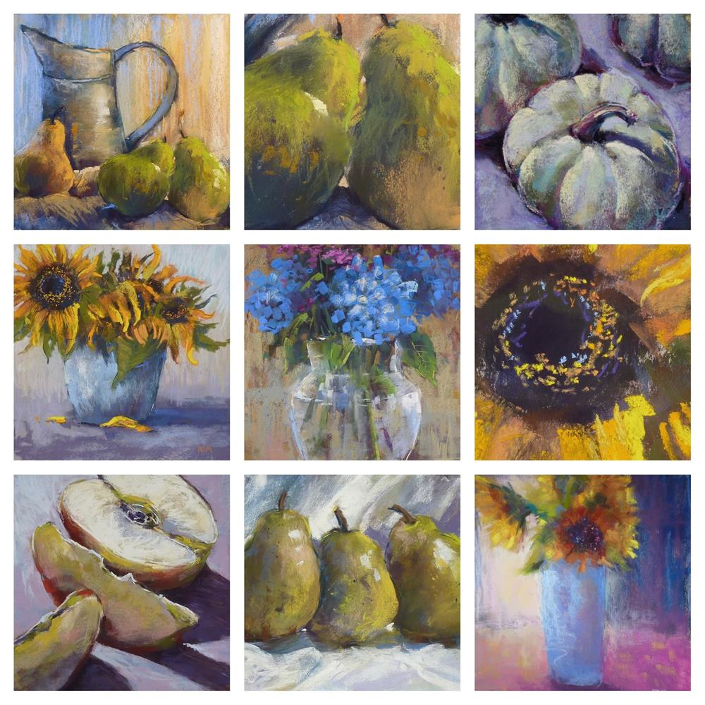 """""""A Simple Way to Make a Photo Collage"""" original fine art by Karen Margulis"""