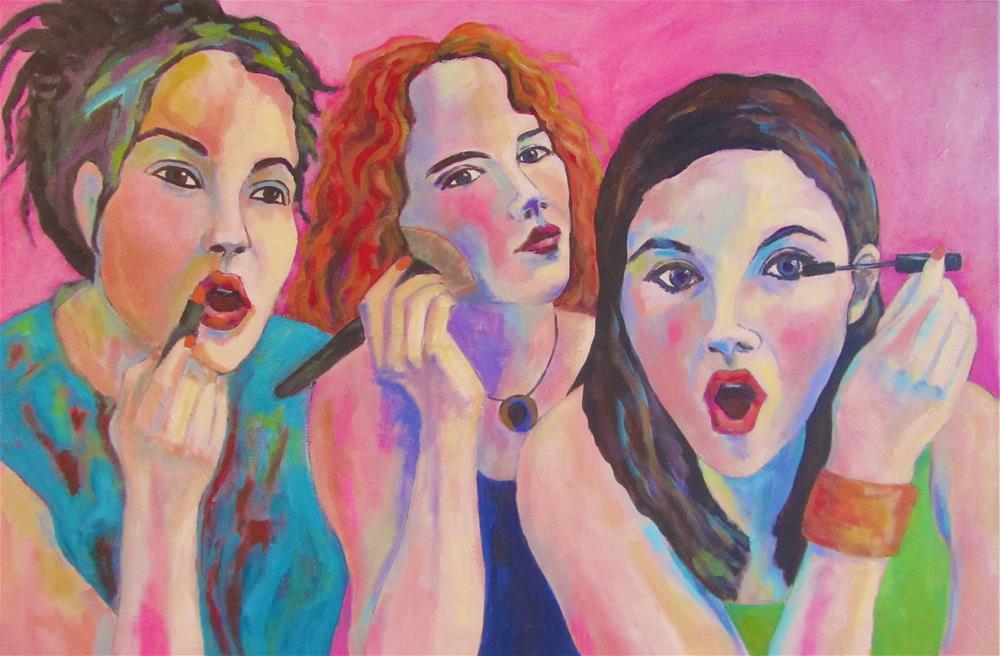 """Looking Pretty"" original fine art by Patricia MacDonald"