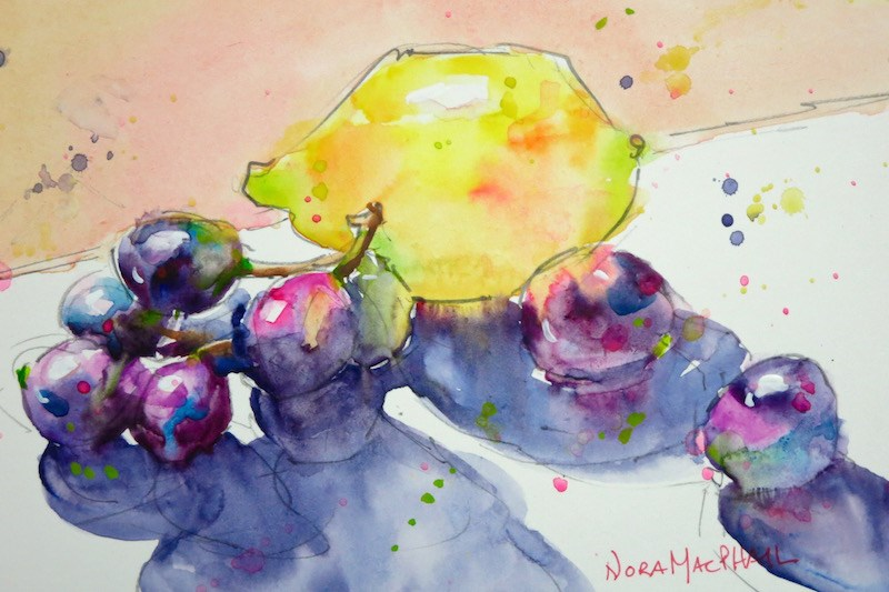 """family trip"" original fine art by Nora MacPhail"