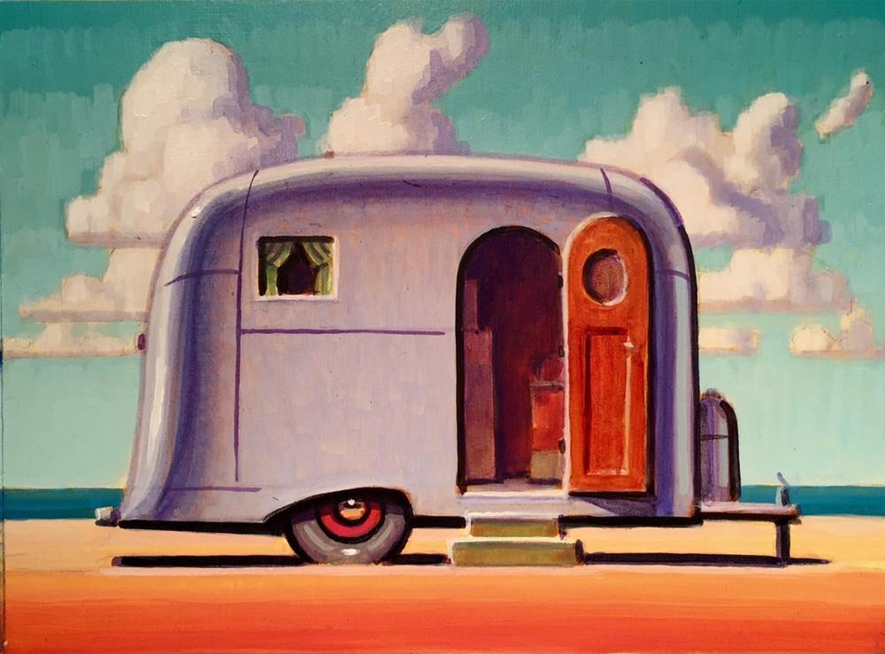 """Summer Camp"" original fine art by Robert LaDuke"