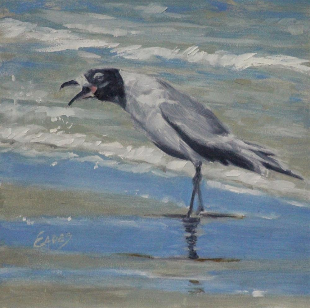 """My Surf"" original fine art by Linda Eades Blackburn"