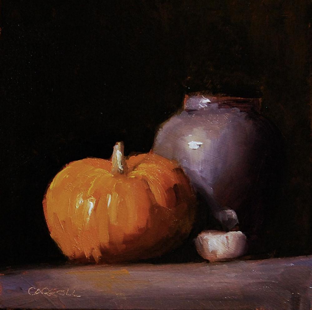 """""""Munchkin - study"""" original fine art by Neil Carroll"""