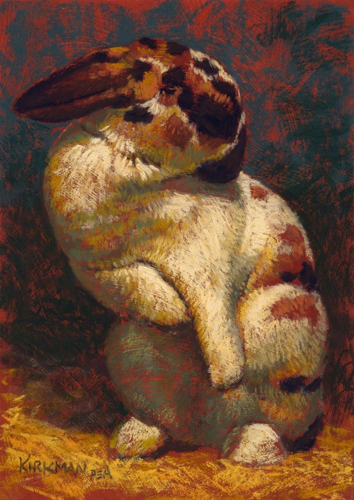 """Sylvie"" original fine art by Rita Kirkman"