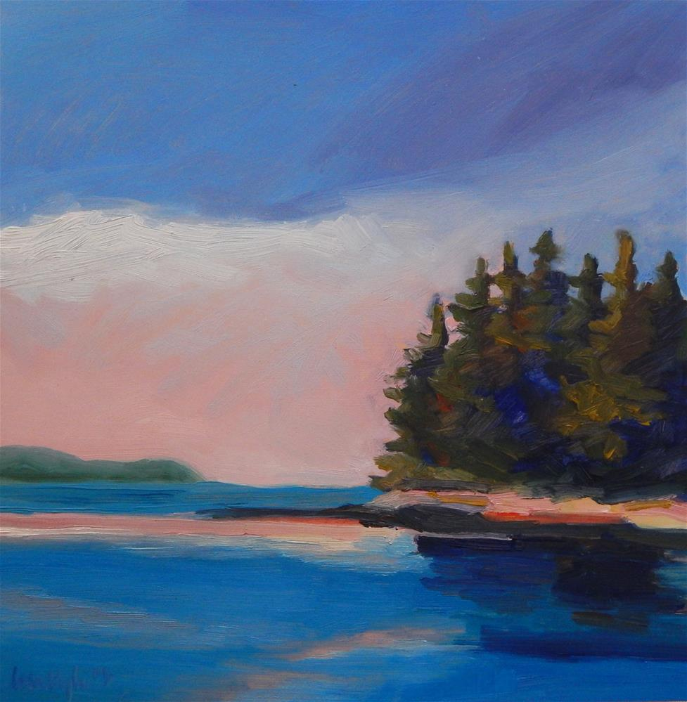 """Pink in the Sky"" original fine art by Lisa Kyle"