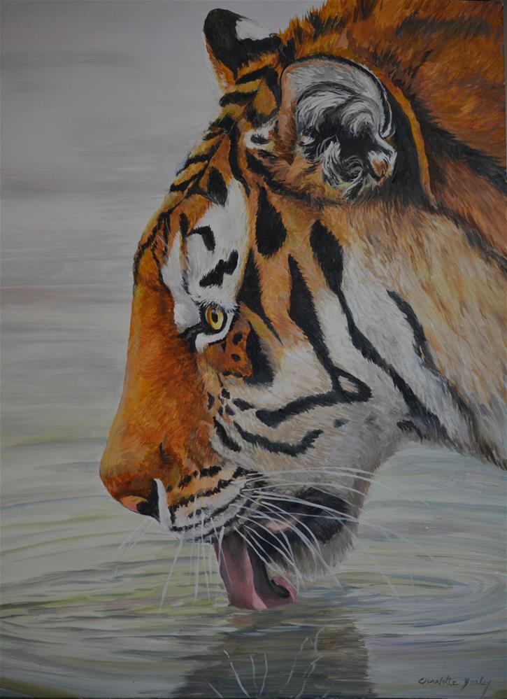 """Thirsty"" original fine art by Charlotte Yealey"