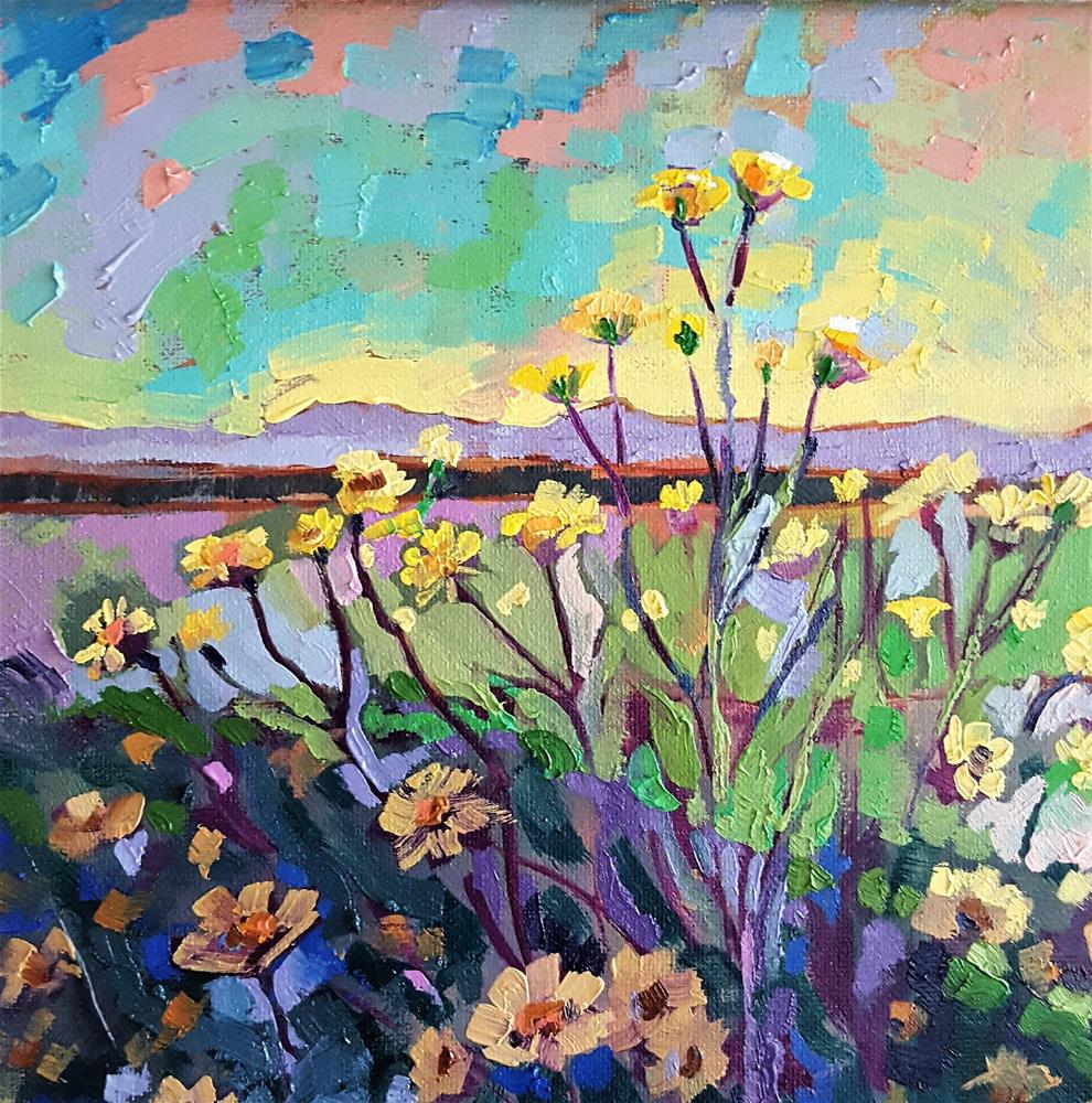 """Superbloom"" original fine art by Bhavna Misra"