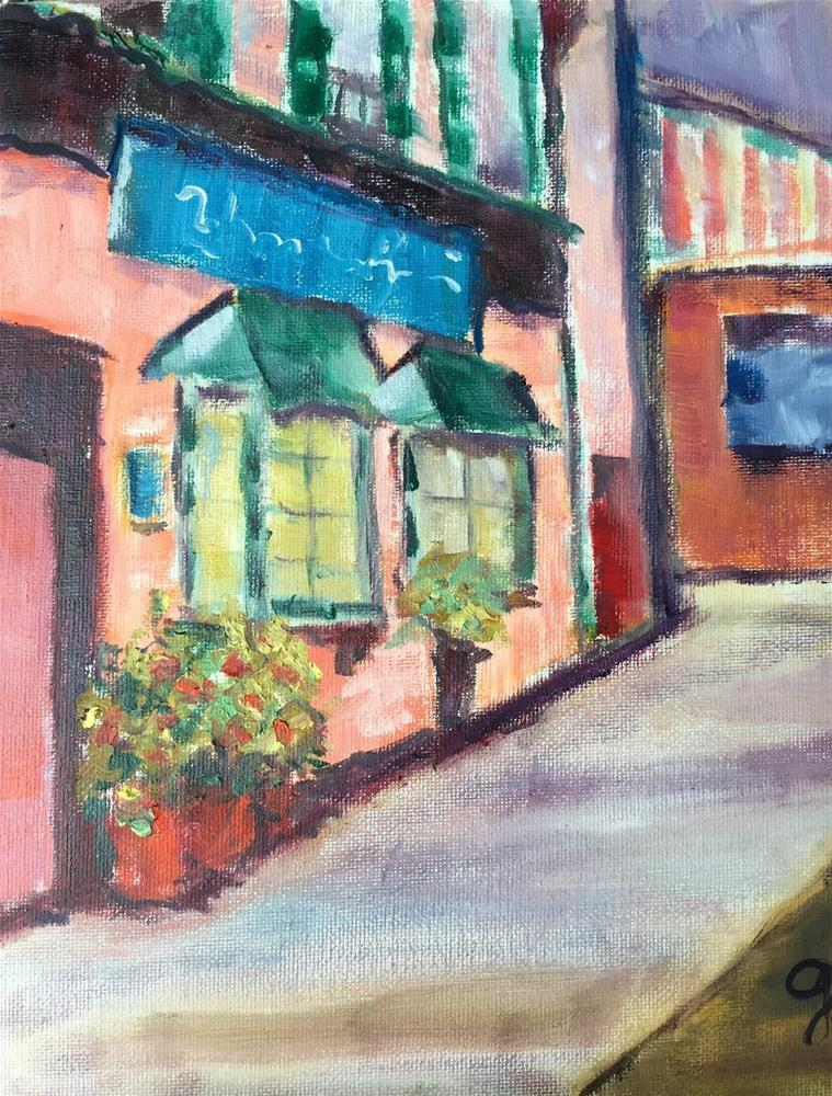 """Sleepy Hollow"" original fine art by Gayle Lambeth"
