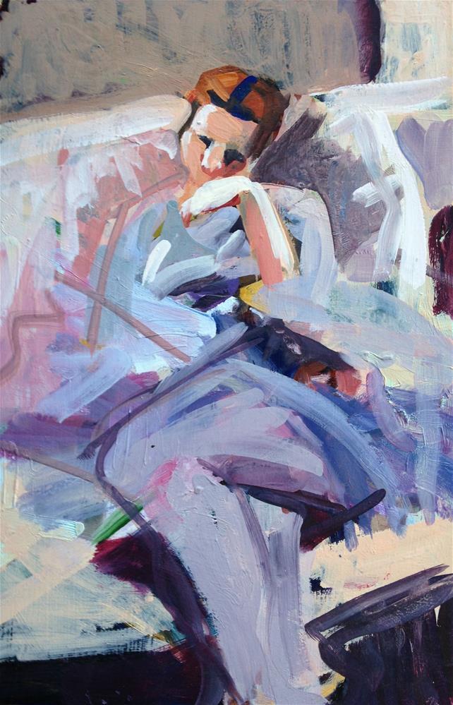 """""""Bridesmaid II"""" original fine art by Pamela Hoffmeister"""