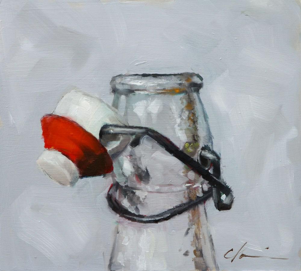 """Fresh Water"" original fine art by Clair Hartmann"