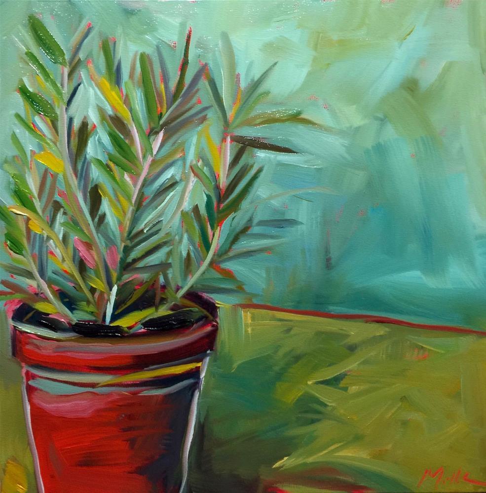 """0468: Just a Little Rosemary"" original fine art by Brian Miller"