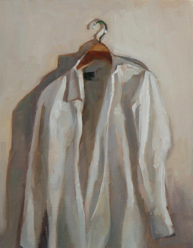 """""""White"""" original fine art by Dana Cooper"""
