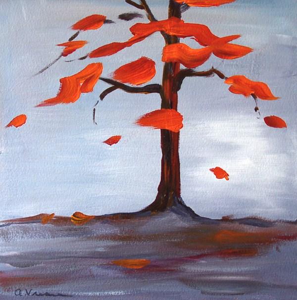 """""""Day 5 - Autumn"""" original fine art by Anna Vreman"""