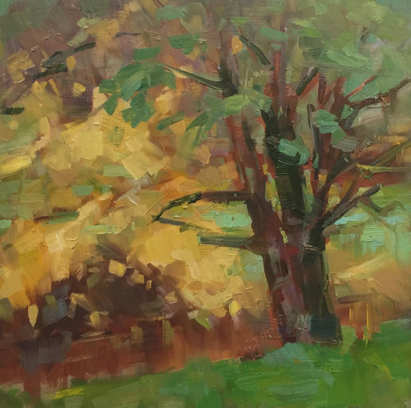 """A Pinch of Fall"" original fine art by Patti McNutt"