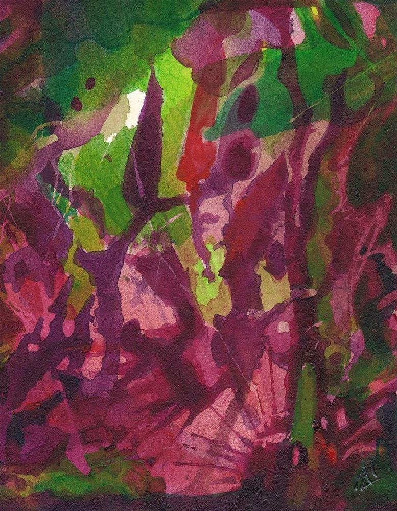 """Jungle"" original fine art by Mark Allison"