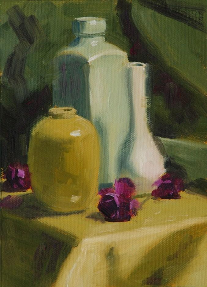 """Still Life #3"" original fine art by Susan McManamen"