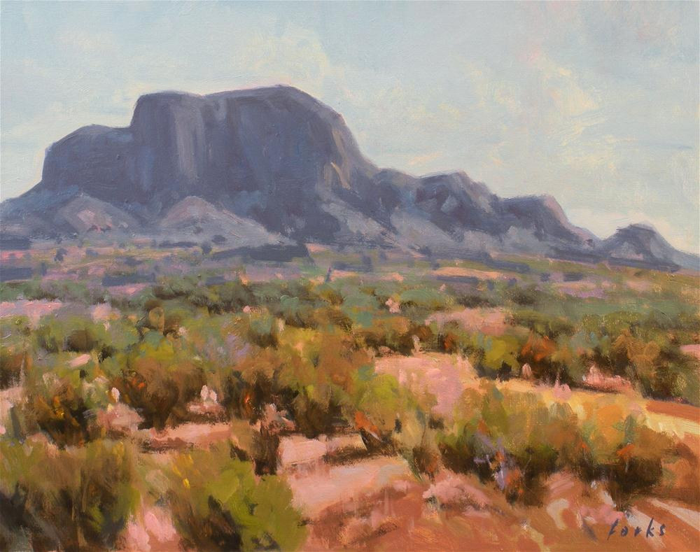 """Summer Chisos"" original fine art by David Forks"
