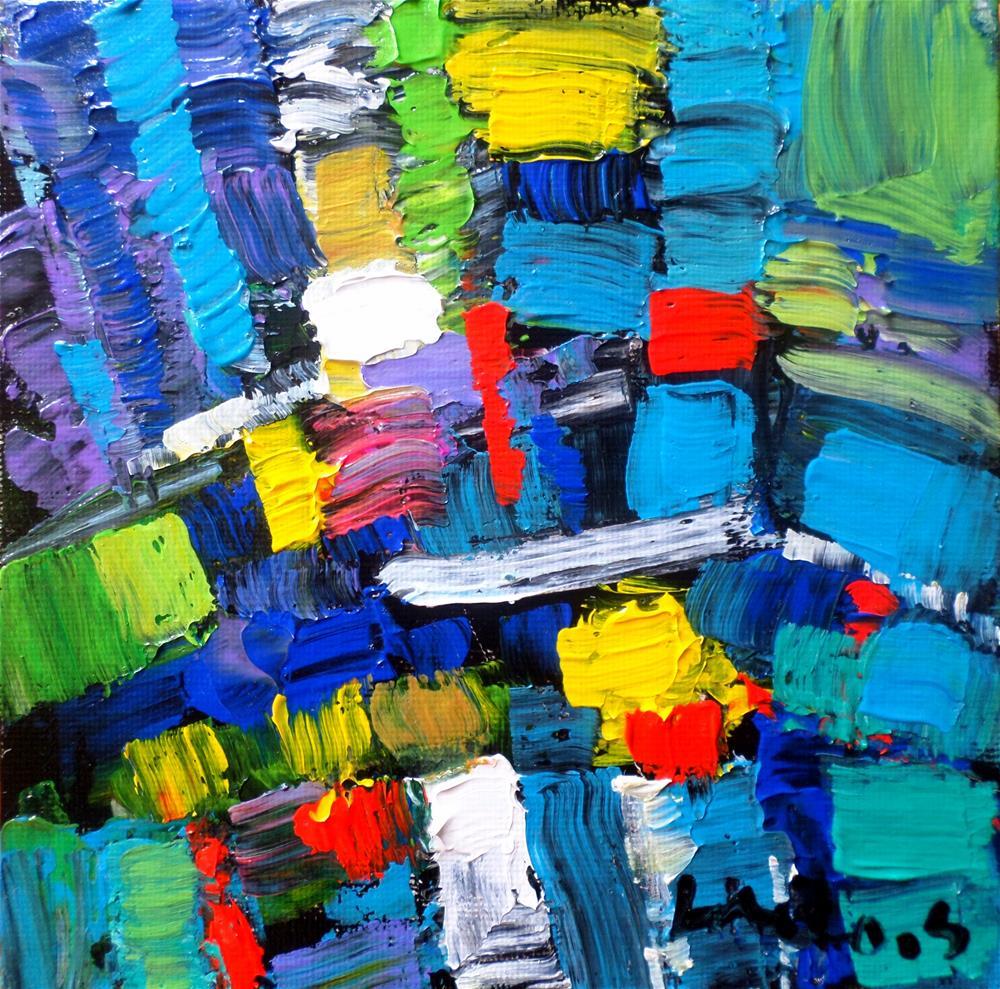 """""""Abstrait"""" original fine art by salvatore greco"""