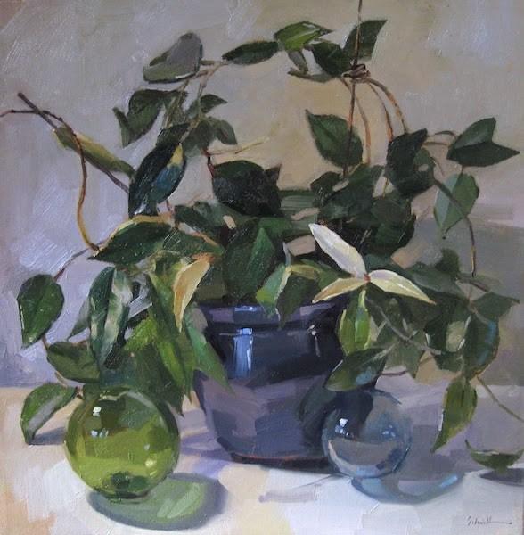 """Hoya"" original fine art by Sarah Sedwick"