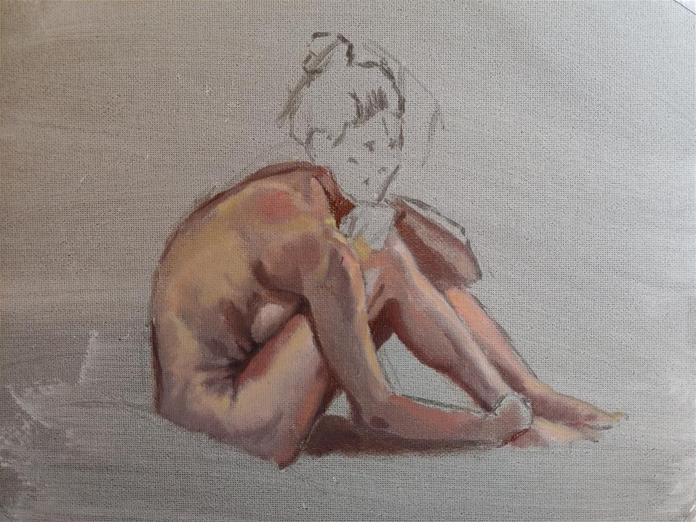 """""""Friday's Open Studio"""" original fine art by Edward Watson"""