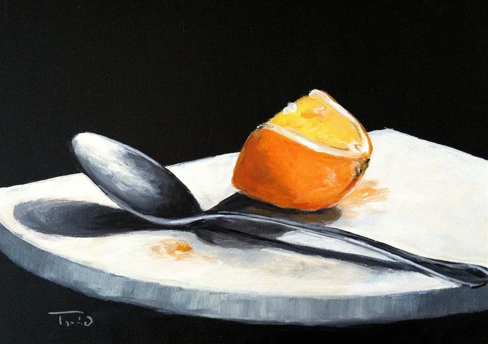 """Vitamin C"" original fine art by Torrie Smiley"